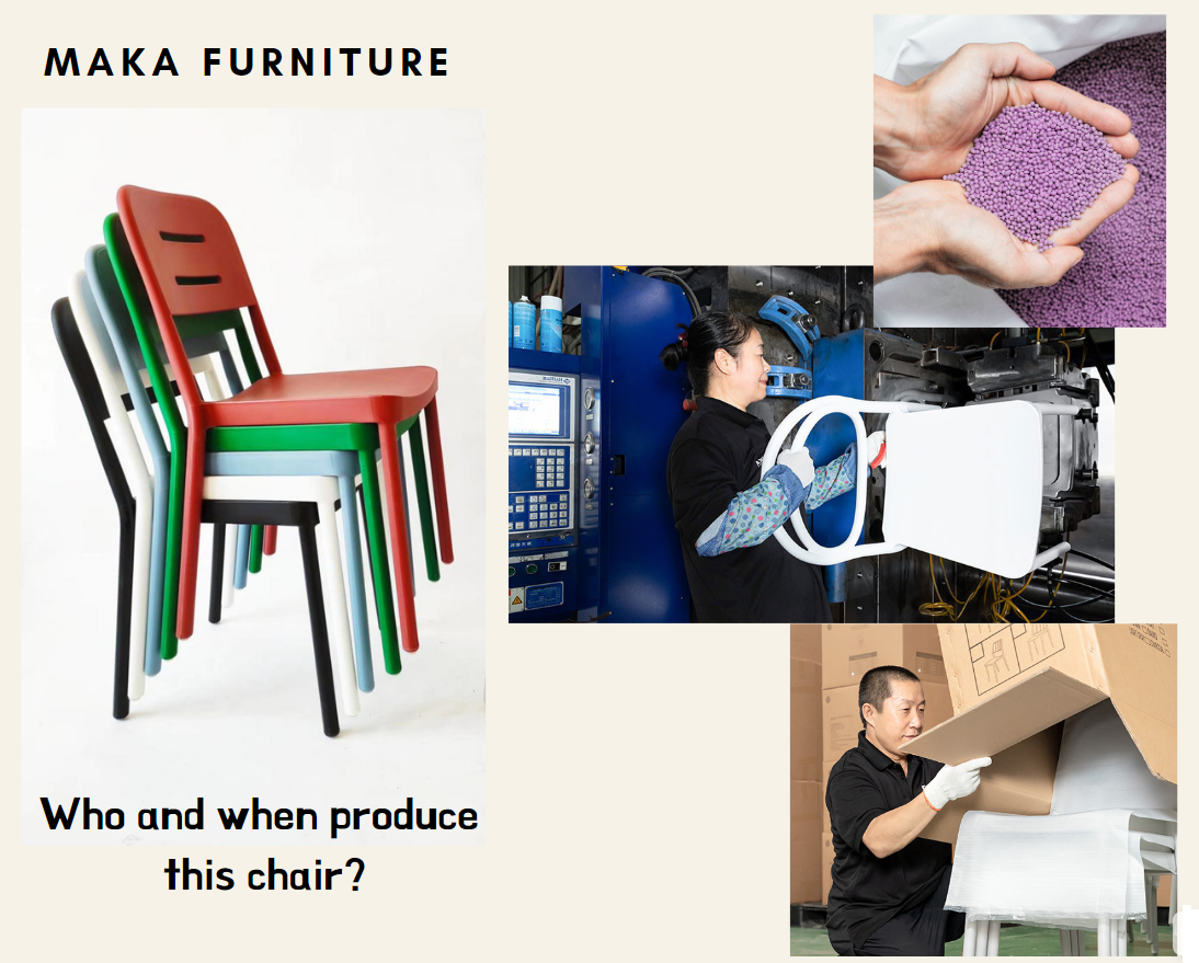 PLASTIC CHAIRS PRODUCTION