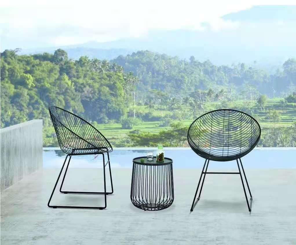 Outdoor  patio furniture patio table and patio chair sets