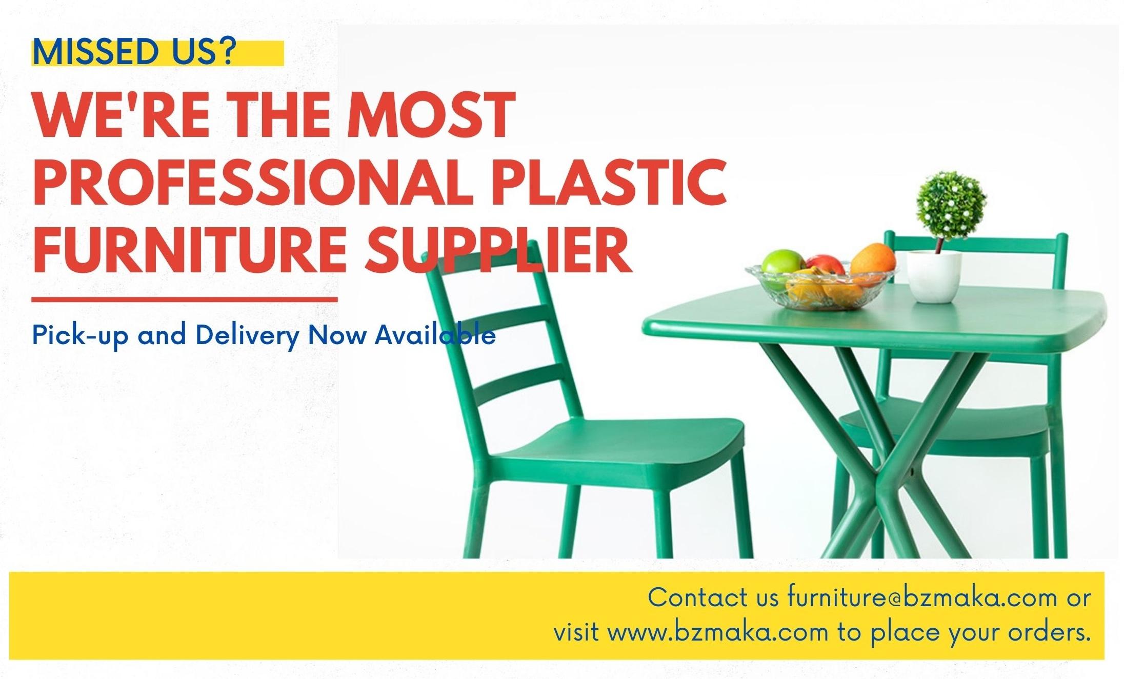 plastic funiture supplier