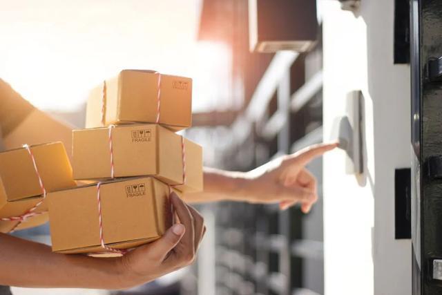 Mail carton packing way