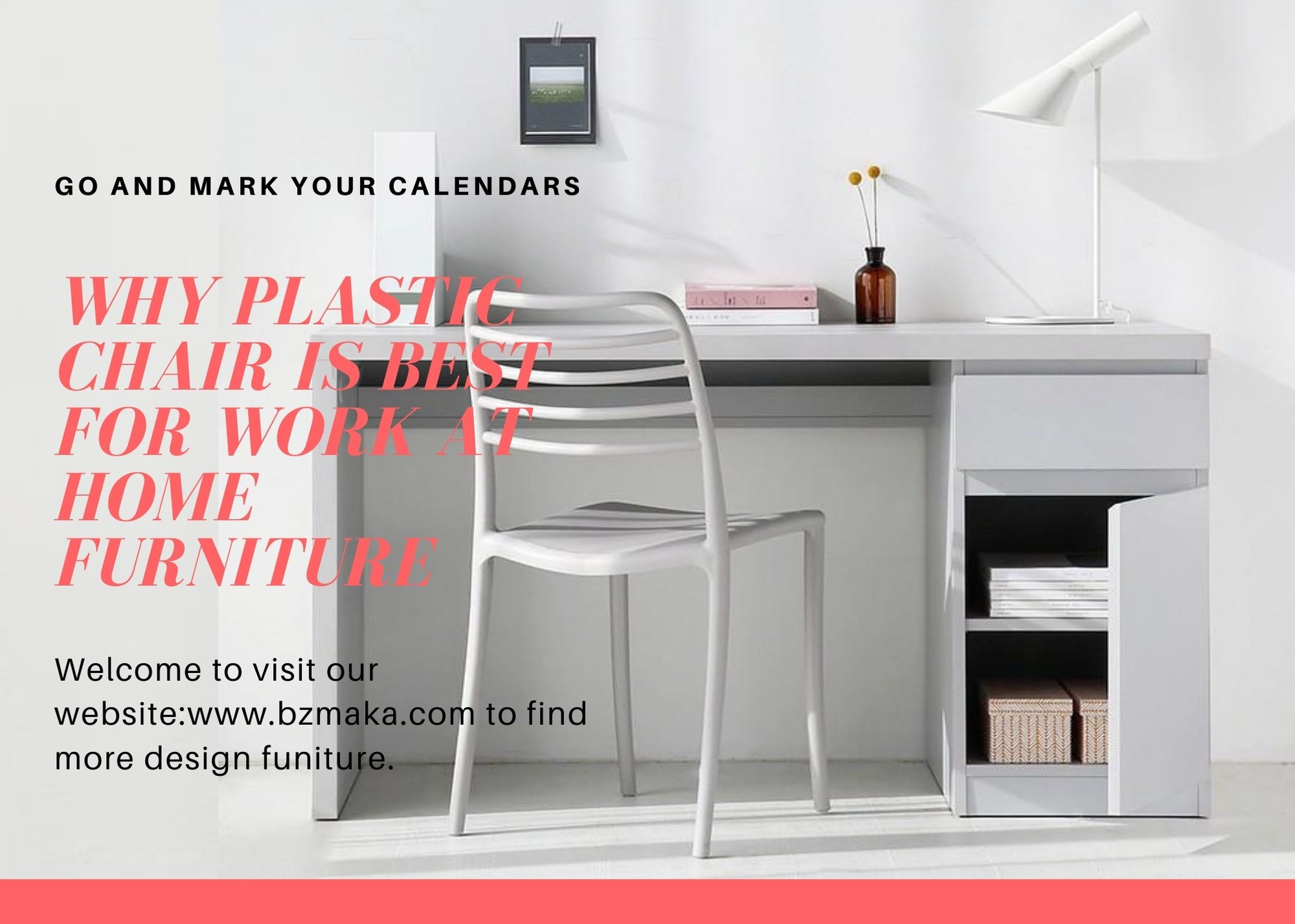 Why plastic chair is best for work at home furniture