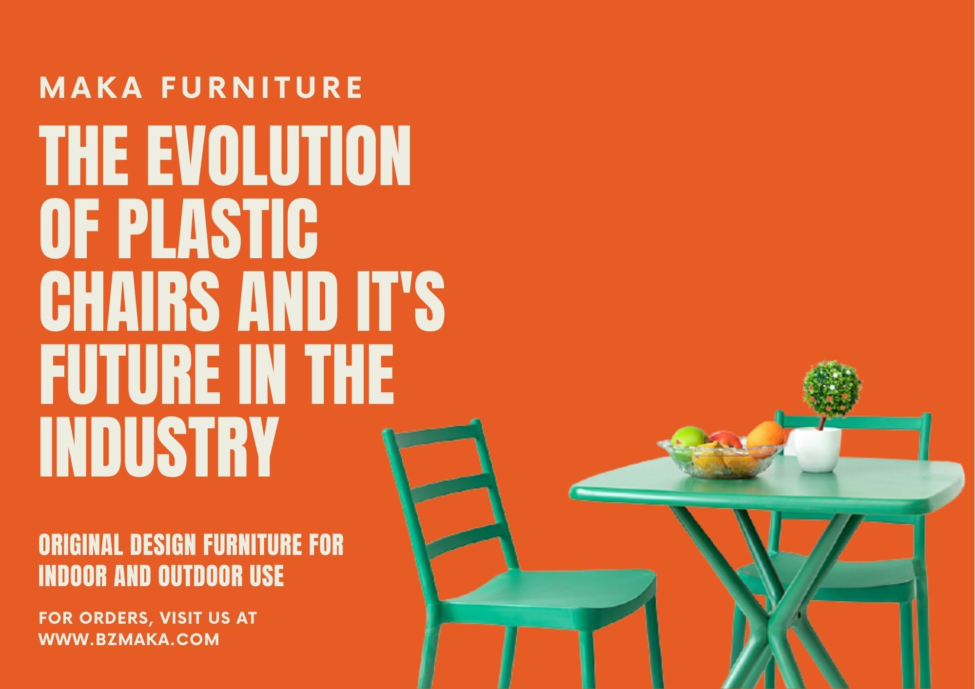 The Evolution of Plastic Chairs and Its Future in the Industry