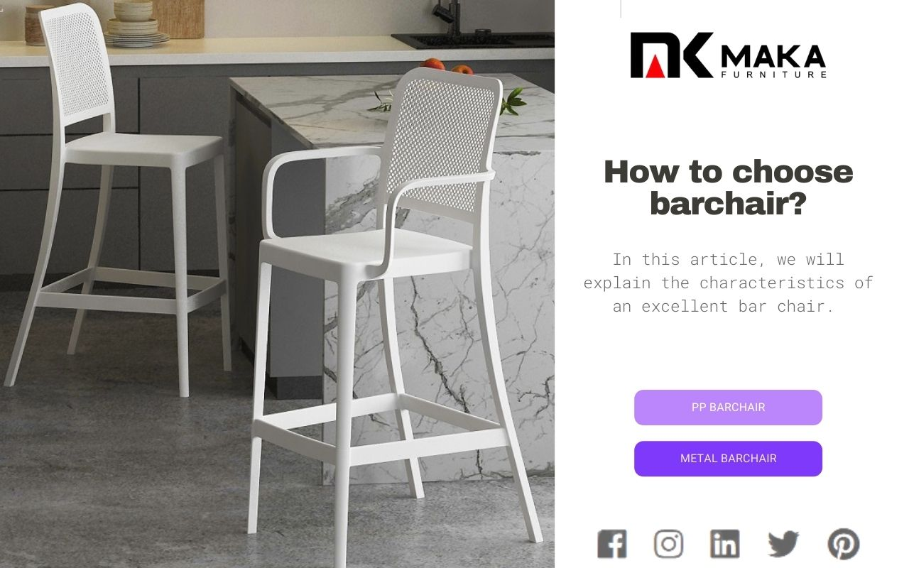 How to choose barchair
