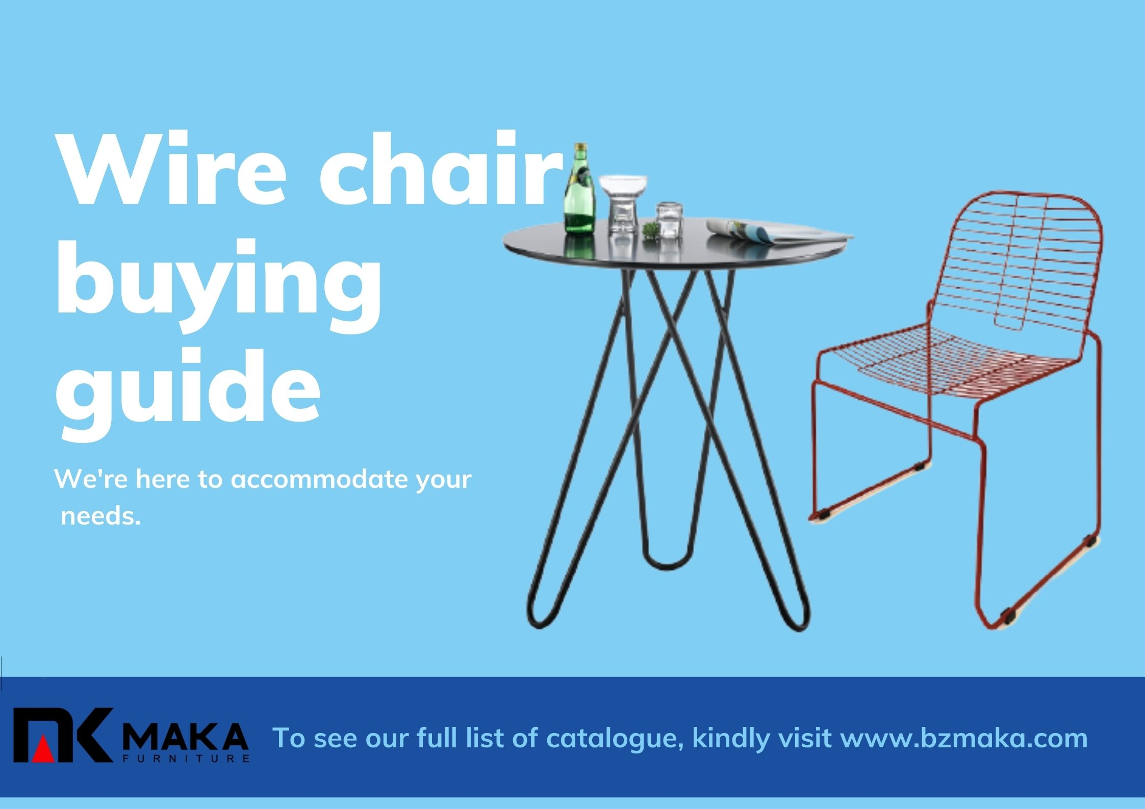Wire chair buying guide